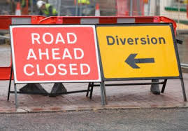 new road closed